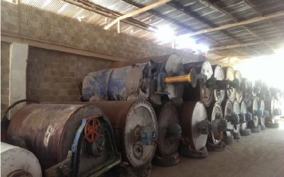 Dismantled Writing&Printing paper machine width 2.800 mm