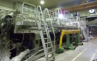Writing and Printing paper machine width 3.700 mm