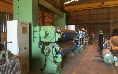 Kuster Calender table width 3.500 mm