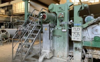 Suction Press roll table width 2.940 mm