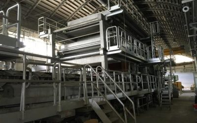 MG machine and heavy tissue papers width 2.700 mm
